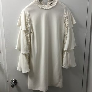 Alexis White long sleeve dress